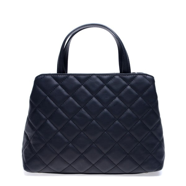 Černá kožená kabelka Roberta M Allesia