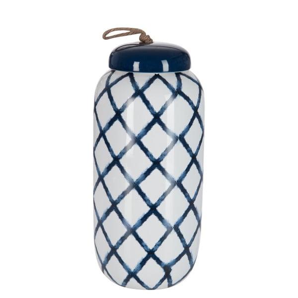 Dóza Jar In Blue, 27x13 cm