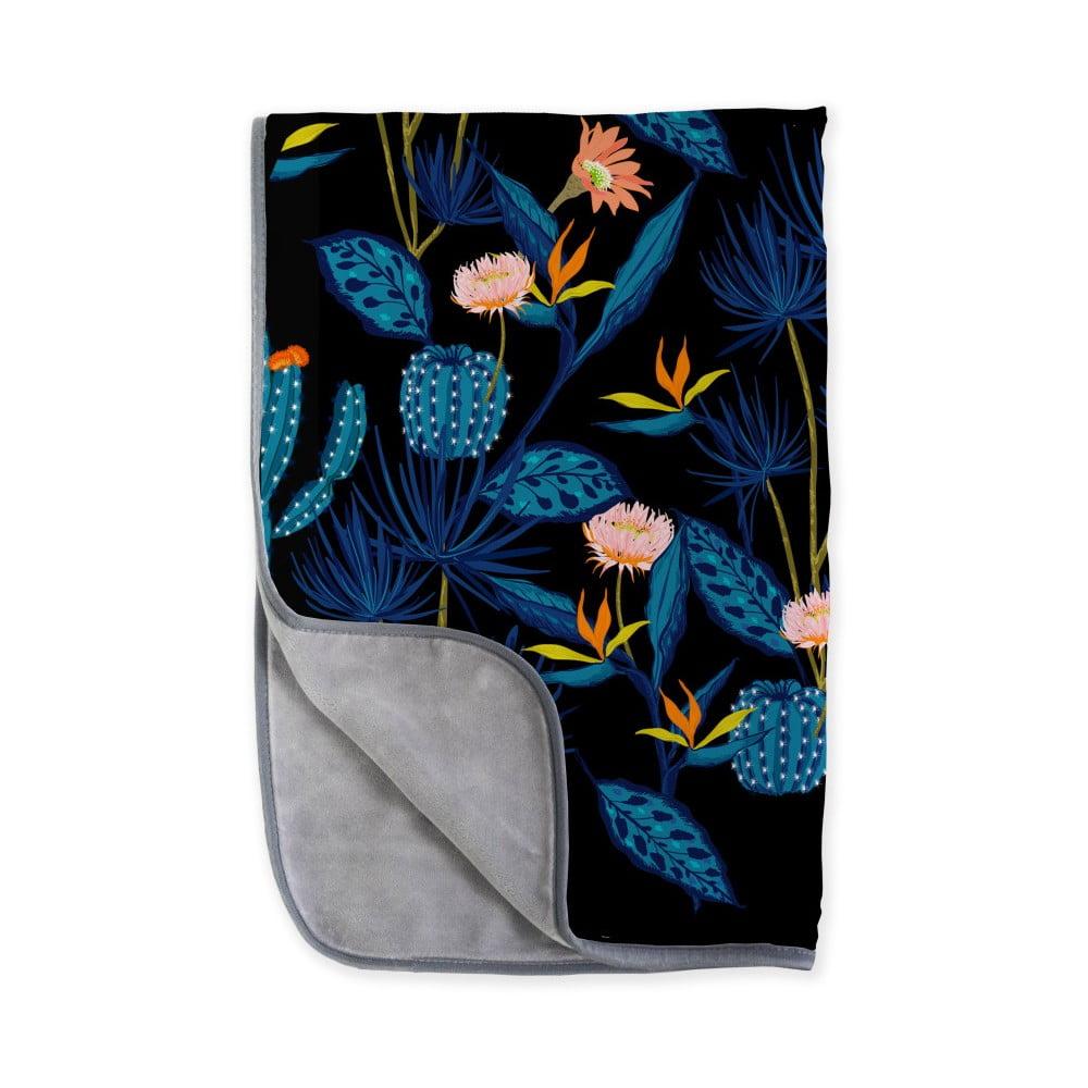 Oboustranná deka z mikrovlákna Surdic Cactussino, 130 x 170 cm