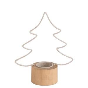 Svícen na čajovou svíčku J-Line Tree
