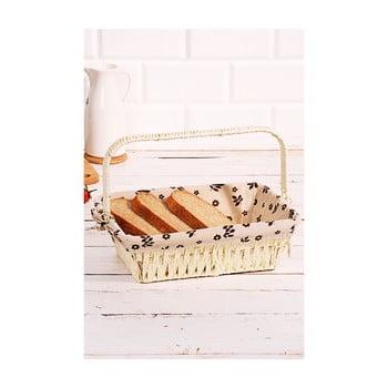 Coș pentru pâine din salcie împletită Logan Anabelle, 30x20x9cm imagine