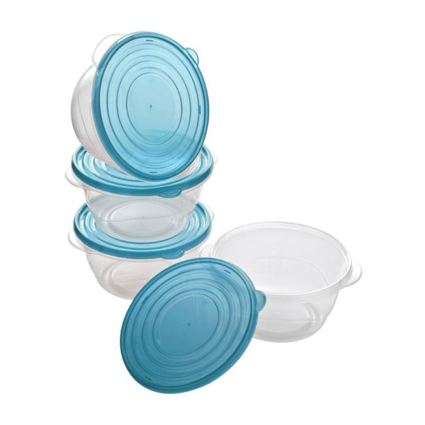 Set 4 recipiente depozitare Premier Housewares 1,4 l