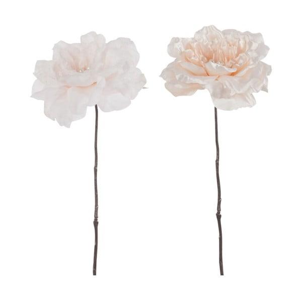 Set 2 dekorativních růží J-Line