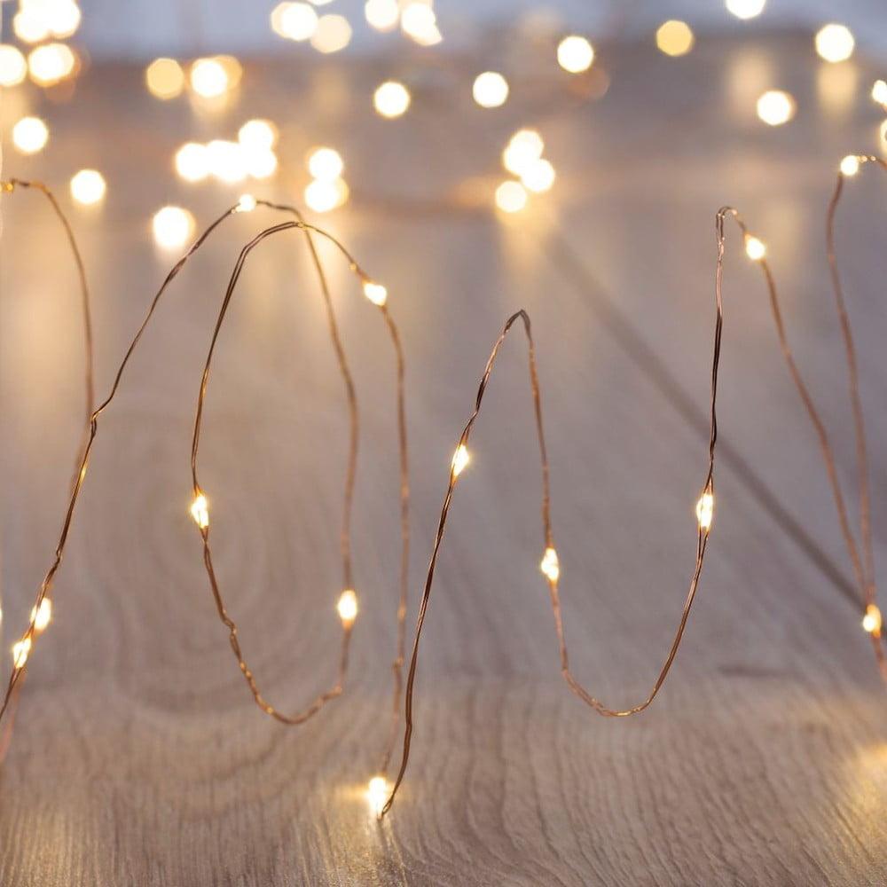 Sada 4 LED světelných řetězů DecoKing, 4 x 50 světel, délka 5 m