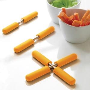 Oranžová trojnožka na odložení hrnce Steel Function Trivet