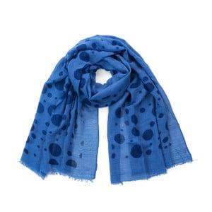 Tmavě modrý šátek Art of Polo Foxy