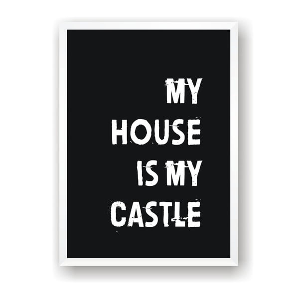 Poster Nord & Co My House, 40 x 50 cm
