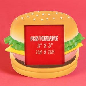 Fotorámeček ve tvaru cheeseburgeru Just 4 Kids Fast Food Cheeseburger