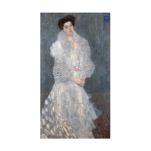 Obraz Gustav Klimt - Portrait of Hermine Gallia, 90x50 cm