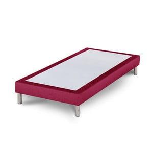 Růžová postel Stella Cadente Sommier, 90x200 cm