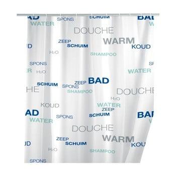 Perdea duș Wenko Douche, 180x200cm, alb imagine