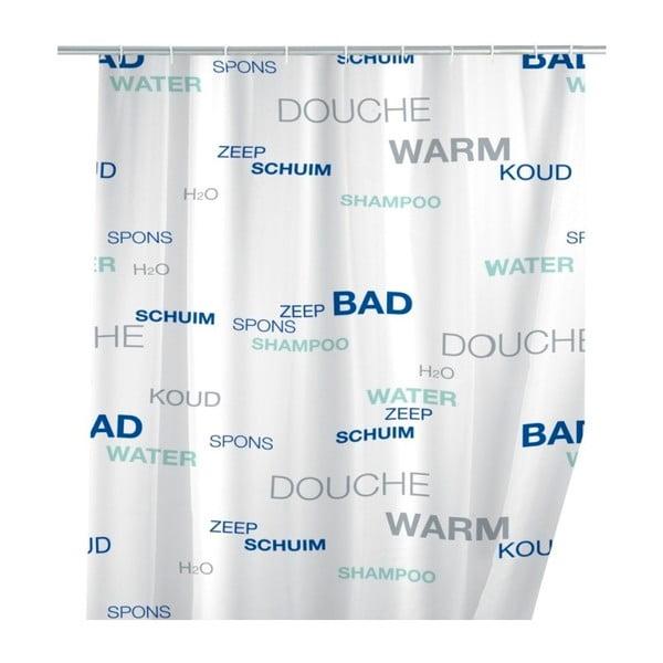 Perdea duș Wenko Douche, 180x200cm, alb