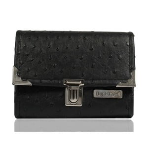 Černá peněženka Dara bags Purse Middle No.557