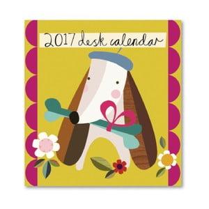 Calendar de masă Portico Designs Muchly Lovely