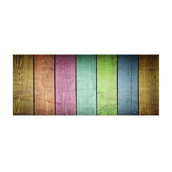 Koberec z vinylu Cocina Tablas de Colores, 50x120 cm
