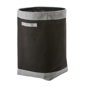 Černý koš na prádlo Aquanova Yvar,Ø45cm
