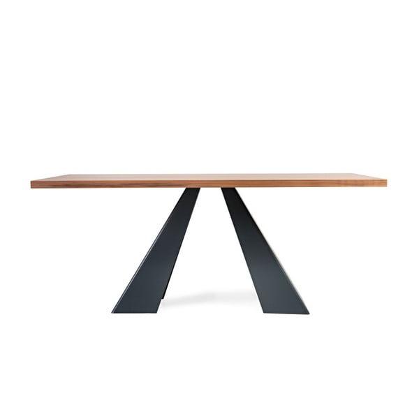 Jídelní stůl s deskou z dubového dřeva Charlie Pommier Visionnaire, 180x90cm