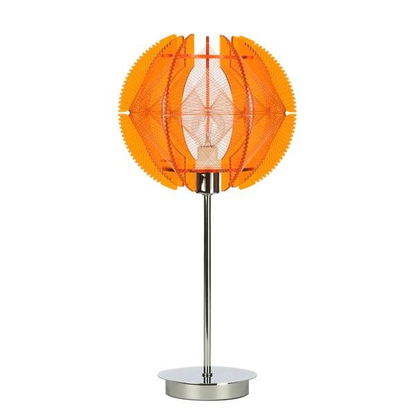 Stolní lampa Wire, oranžová