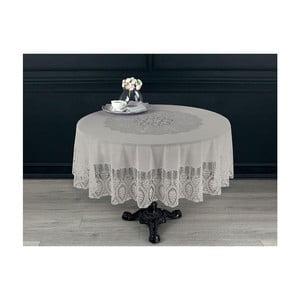 Față de masă Madame Coco Vynil, ⌀ 180 cm, alb