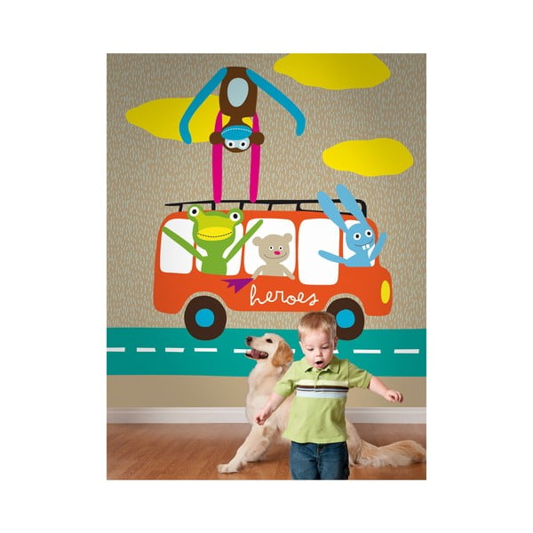Obrazová tapeta LAVMI® Rain Beige, 1,86x2,7 m