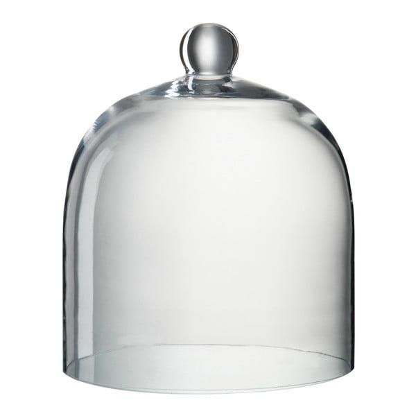 Skleněný dekorativní poklop Bell, výška 30 cm