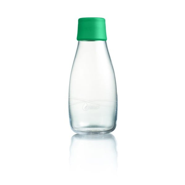 Zielona butelka ze szkła ReTap, 300 ml