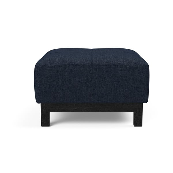Tmavě modrý puf Innovation Bifrost Mixed Dance Blue, 65x64cm
