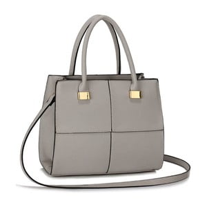 Šedá kabelka L&S Bags Chesnay