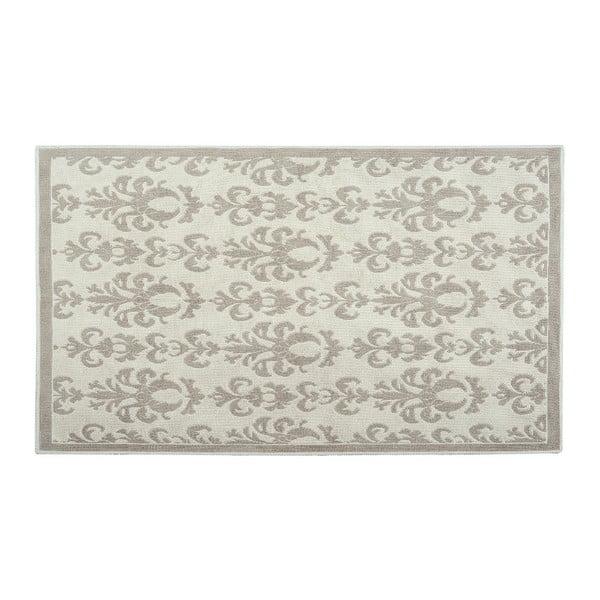Bavlněný koberec Baroco 100x200 cm, krémový