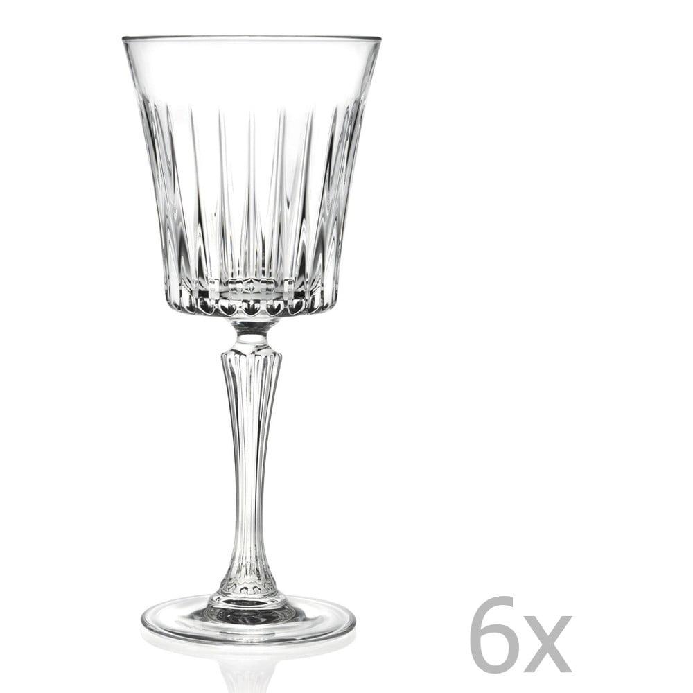 Sada 6 sklenic na sekt RCR Cristalleria Italiana Coco, 300ml