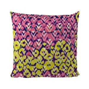 Polštář Yellow Pink, 50x50 cm