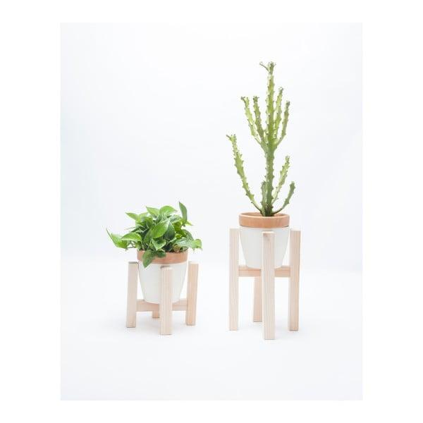 Sada 2 dřevěných stojanů na květináče Really Nice Things