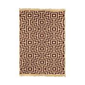 Červený koberec Ya Rugs Kare, 80x150cm