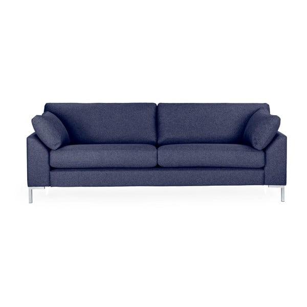 Granatowa sofa 3-osobowa Softnord Garda