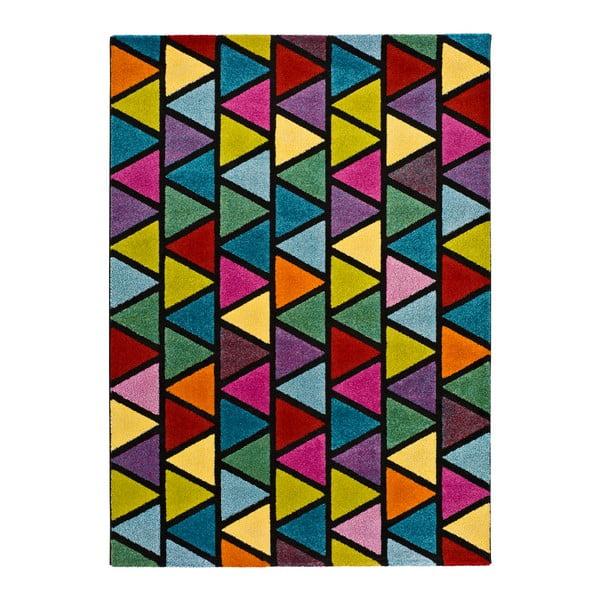 Covor adecvat și pentru exterior Universal Happy Gerro, 140 x 200 cm, multicolor