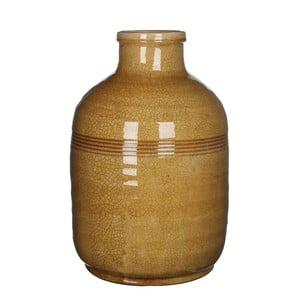 Keramická váza Abbey Ochre, 45x30 cm