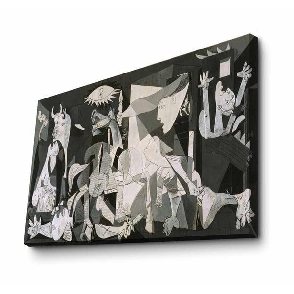 Nástěnná reprodukce na plátně Pablo Picasso Black and White, 100 x 70 cm