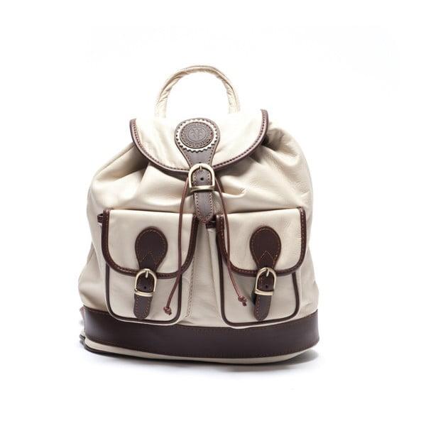 Kožený batoh Mangotti 2038, béžový