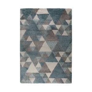Modro-krémový koberec Flair Rugs Nuru, 80 x 150 cm
