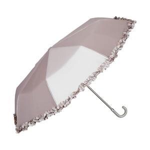 Skládací deštník ve stříbrné barvě Von Lilienfeld Elena