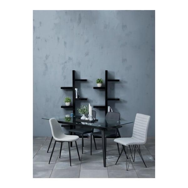 Sada 4 světle šedých jídelních židlí Actona Wilma Dining Set