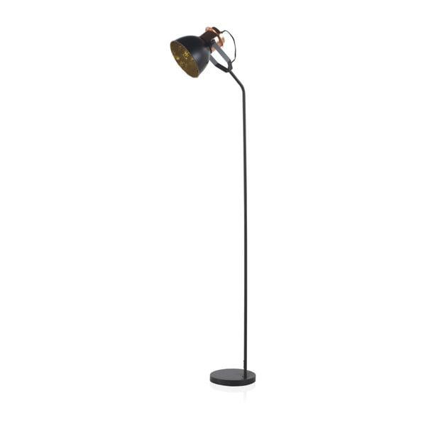 Černá stojací lampa Geese, výška 1,5 m