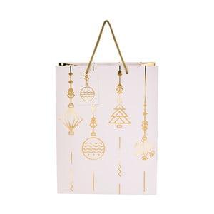 Dárková taška Butlers Ornamenty, výška 13,5 cm