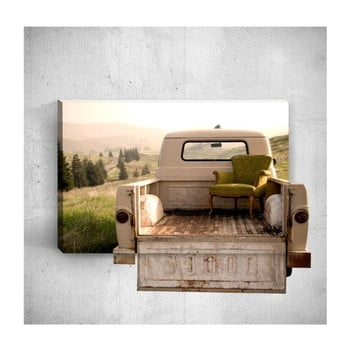 Tablou de perete 3D Mosticx Chair On Car, 40 x 60 cm