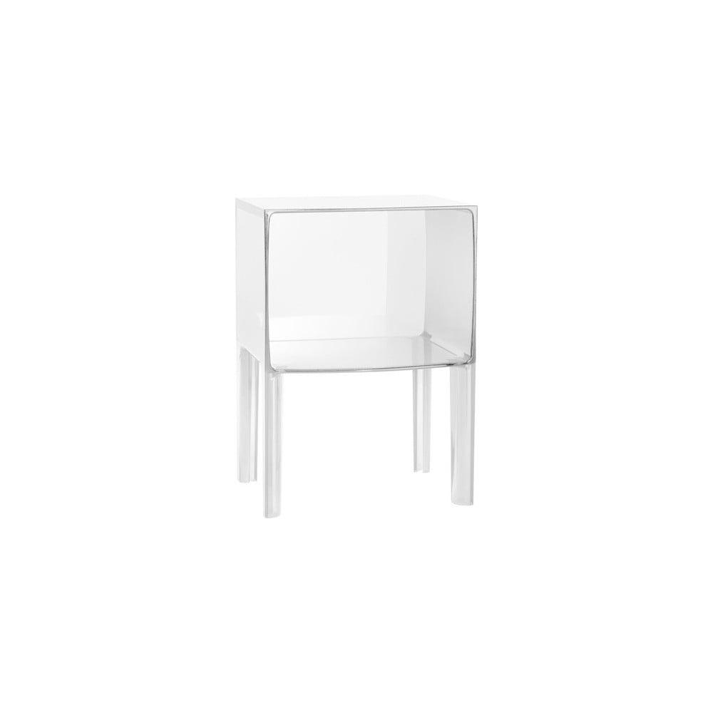 Noční stolek Kartell Ghost Buster Small Crystal   Bonami