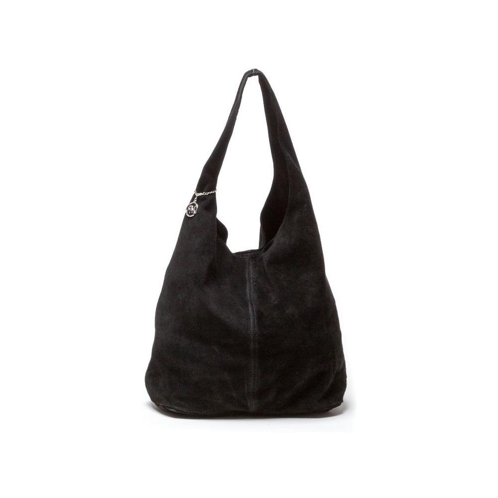 Černá kožená kabelka Isabella Rhea 885  b0281f71c7