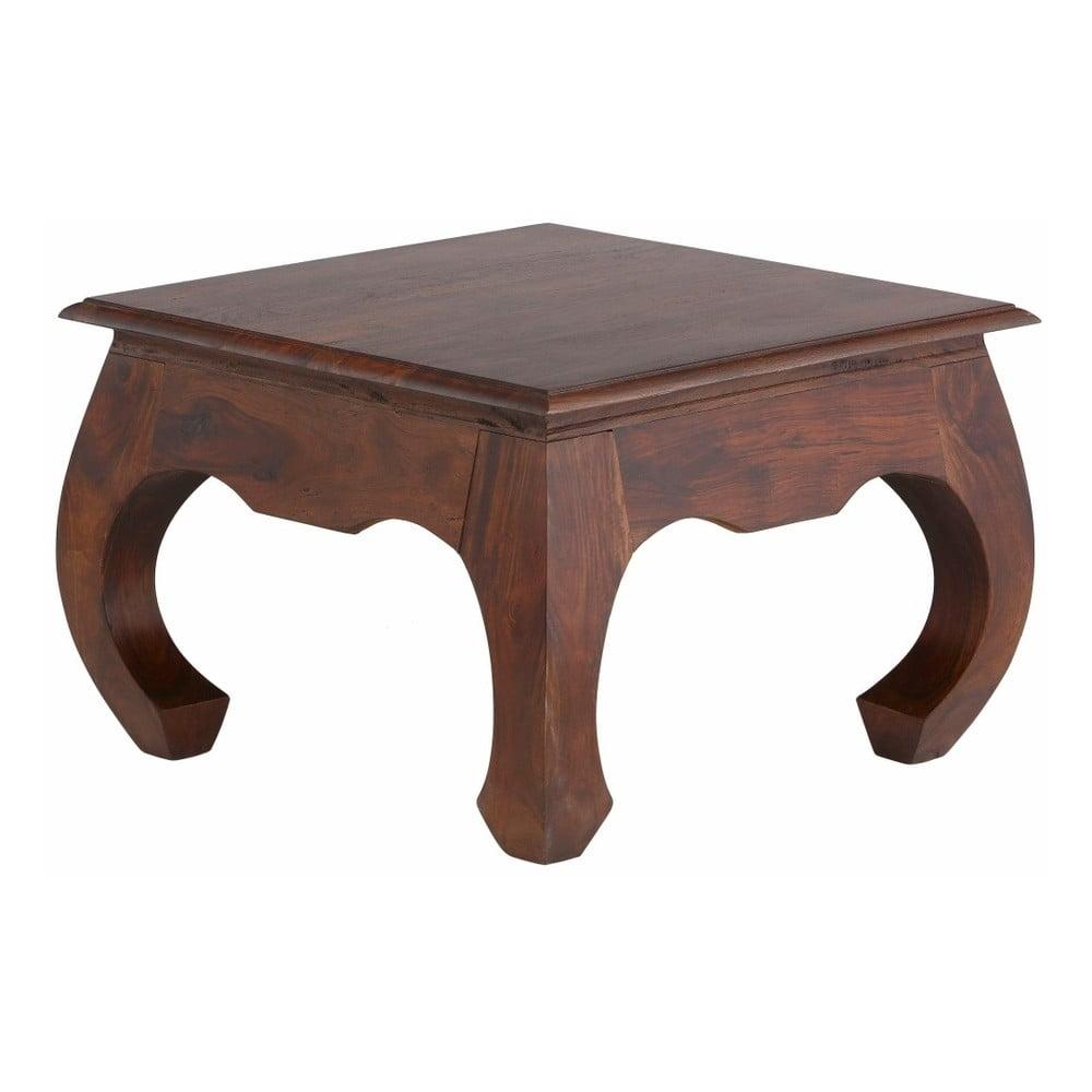 Hnědý konferenční stolek Støraa Kusuma, 60 x 60 cm