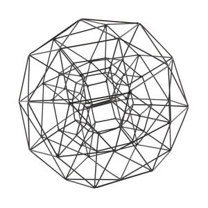 Dekorace Globe Black, 29 cm