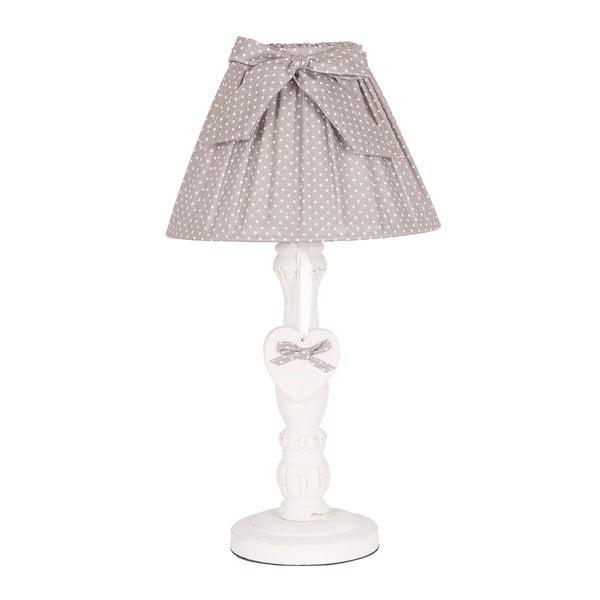 Stolní lampa Grey Bow