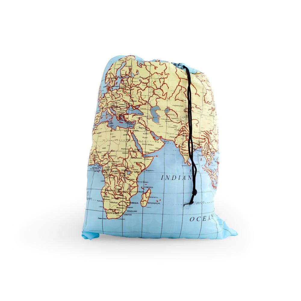 Cestovní taška na prádlo Kikkerland Maps